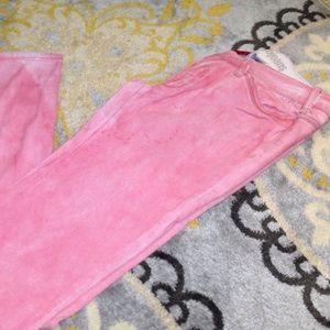 Parasuco Denim - Parasuco pink dyed pink jeans. Size 31.