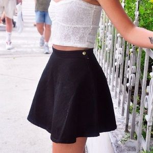 AA Black Circle Skirt