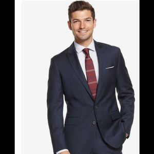 Ryan Seacrest Distinction Other - Ryan Seacrest navy blue suit