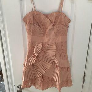 Ryu Dresses & Skirts - Ryu lace ruffle dress. Dust rose. NWT. M Medium.