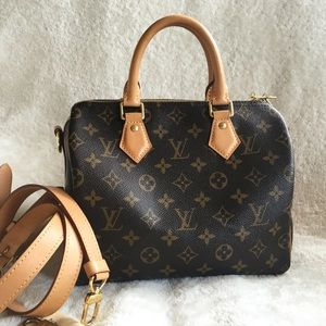 SOLD Louis Vuitton Speedy Bandouliere 25 Monogram