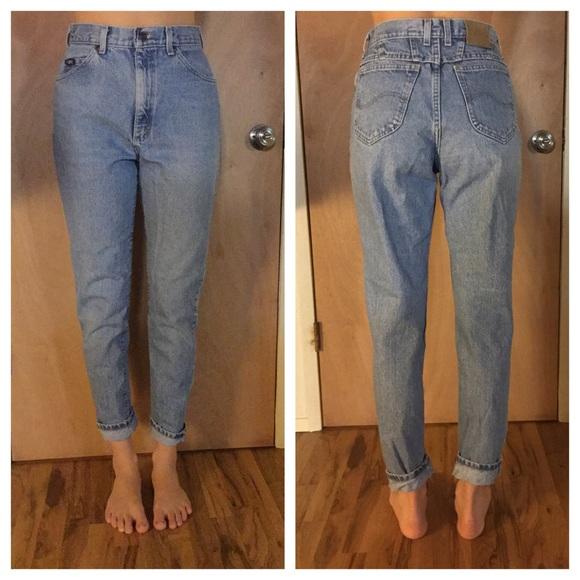 2bf55c85 Lee Denim - SALE! Vintage 90s High waisted Lee Mom Jeans HTF