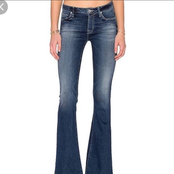 201dfa93aa2 Hudson Jeans Jeans | Hudson Mia Midrise Flare In Del Mar Nwt | Poshmark