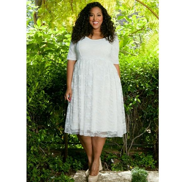 4b38b347134 SWAK White lace dress