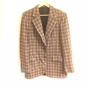 Christian Dior Other - Vintage Christian Dior Men's Plaid Wool Blazer