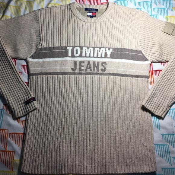 f80dd245 Tommy Hilfiger vintage Tommy Jeans Knit Sweater. M_5834c5794225be2924003495