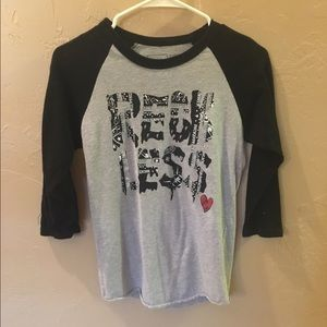 Young & Reckless Tops - Young & Reckless baseball tee