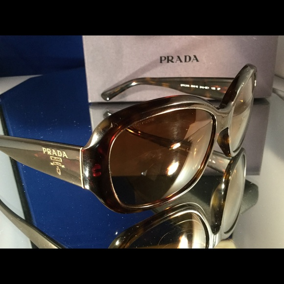 9fc024c83d57 PRADA Polarized Havana Dark Tortoise Sunglasses  6.  M 5834c6749c6fcf663700377b. Other Accessories ...