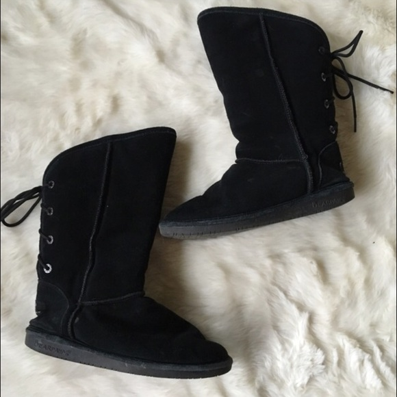 BearPaw Shoes | Bear Paw Tie Back Boots