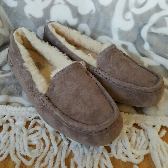 UGG Ansley Women s Slippers in Stormy Grey. M 5834c9eff0928202c2005be9 f5e125eb0