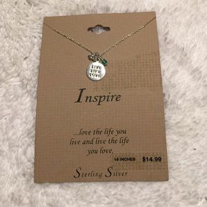 "Inspire Jewelry - Sterling Silver 16"" Necklace"