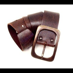 Old Glory Accessories - Old Glory heavy duty leather Cowboy belt