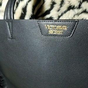 bb22c5fe3ac9 PINK Victoria s Secret Bags - NWT Victoria Secret black oversized fringe  tote