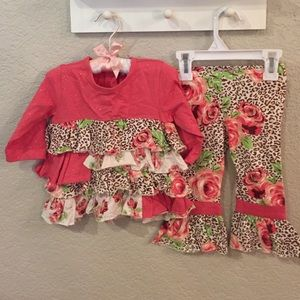 Baby Nay Other - Sweet & sassy Baby Nay 2 piece ruffle outfit 12 m