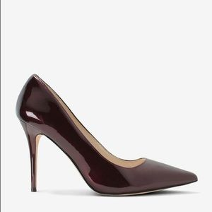 White House Black Market Shoes - Olivia Dark Burgundy Pump