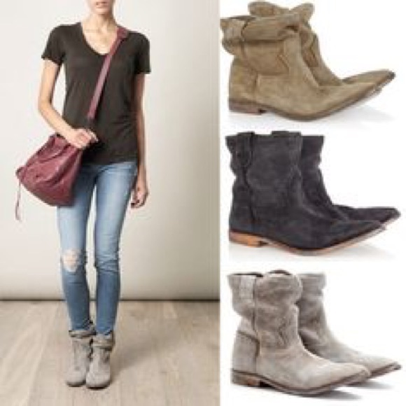 87% off Isabel Marant Shoes - LOWEST Isabel Marant Jenny slouch ...