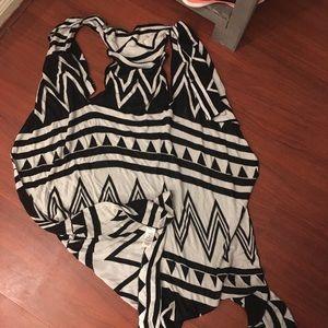 Rue 21 Long Sweater Vest!