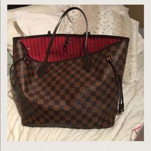 Louis Vuitton Handbags - Louis Vuitton MM NeverFull tote - Damier ebene