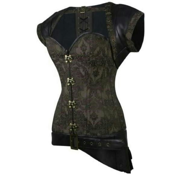 Dirty Girly Intimates & Sleepwear - ***Price Dropped*** Steel Boned Corset Set