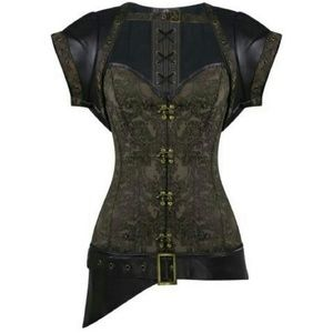 Dirty Girly Other - ***Price Dropped*** Steel Boned Corset Set