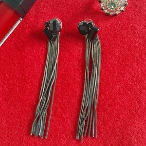 Prabal Gurung Jewelry - Prabal Gurung Target Black Dangle Earrings