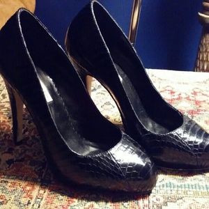 Kathryn Amberleigh Shoes - Kathryn  Amberleigh  Snakeskin heels
