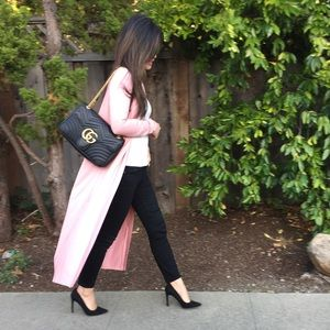 Chic Blush Duster