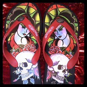 Ed hardy shoes on poshmark - Ed hardy lisa frank ...