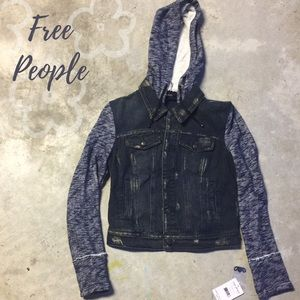 Free People Jackets & Blazers - Free People Hooded Jacket