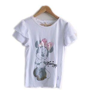 Minnie Mouse Hong Kong Disneyland white top