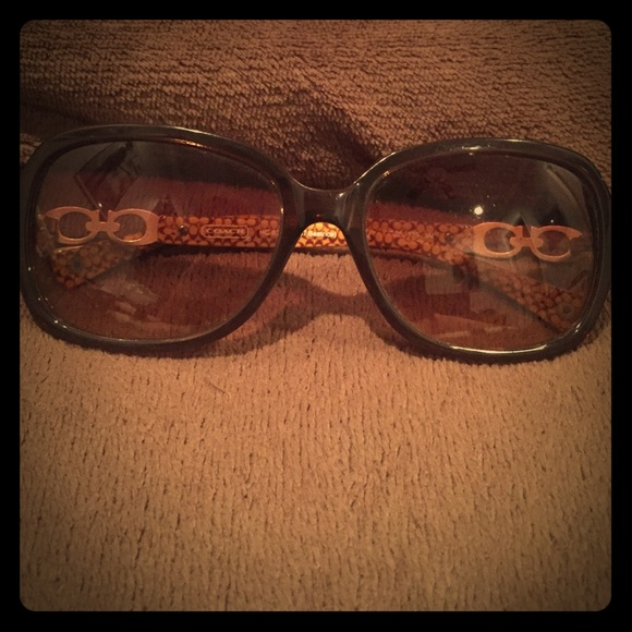 7139843f4cd4a Coach Accessories - Authentic Coach Brown Hc 8019 Beatrice Sunglasses