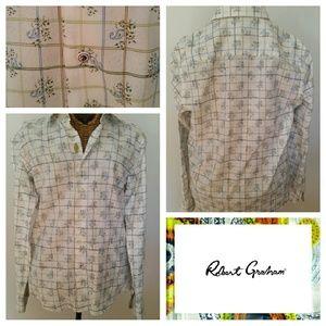 Robert Graham Tops - ROBERT GRAHAM really cute paisley shirt L