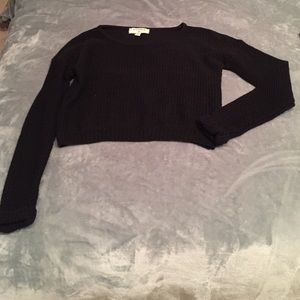Urban outfitters knitted cropped sweater