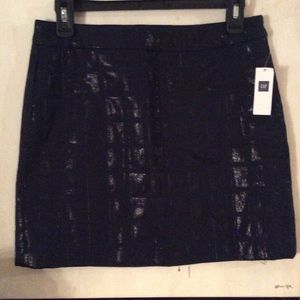 GAP mini skirt NWT