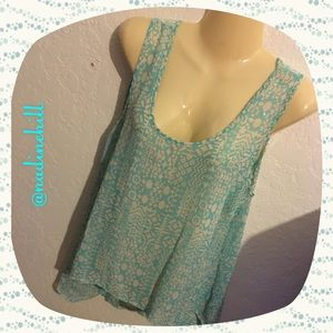 Absolute Angel Tops - 🌺 NWT SHEER TANK TOP FIRM PRICE 🌺