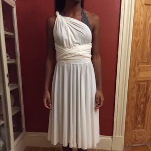 Dresses & Skirts - Off-white multiway convertible dress