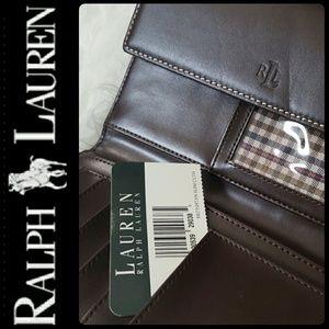 Ralph Lauren Handbags - Ralph Lauren Leather Wallet