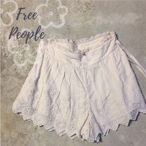 Free People Pants - Free People Crochet Shorts