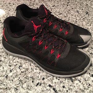 Mens Air Jordan Six Rings Jordan 11 Black Red shoes