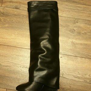 d2a86b23cf68 Givenchy Shoes | Jessica Buurman Qamra Wedge Boot | Poshmark
