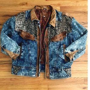Vintage Winlit Jean Jacket
