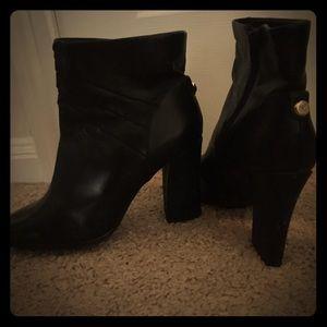Monet Shoes - Black Monet Ankle Booties