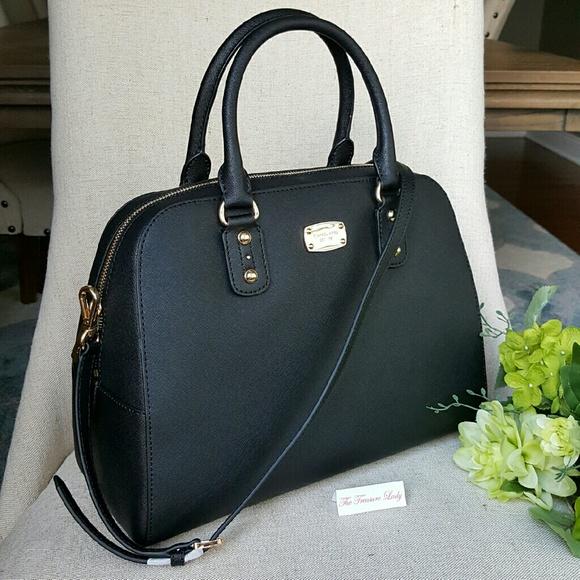 56% off Michael Kors Handbags - Michael Kors Saffiano Large ...