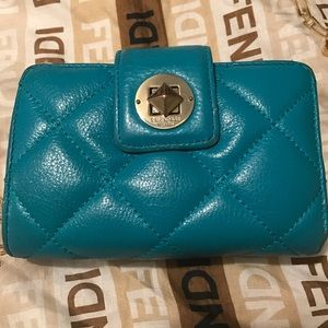 Kate Spade quilted wallet EUC