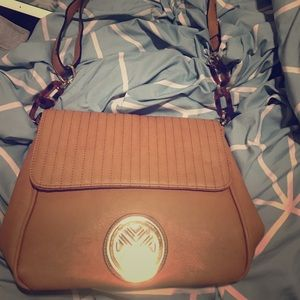 Handbags - Brown, over the shoulder, leather purse