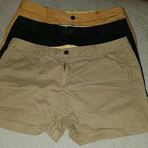 Merona shorts lot of 3