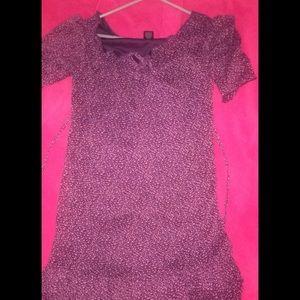 Kandy Kiss Purple Flowered Dress