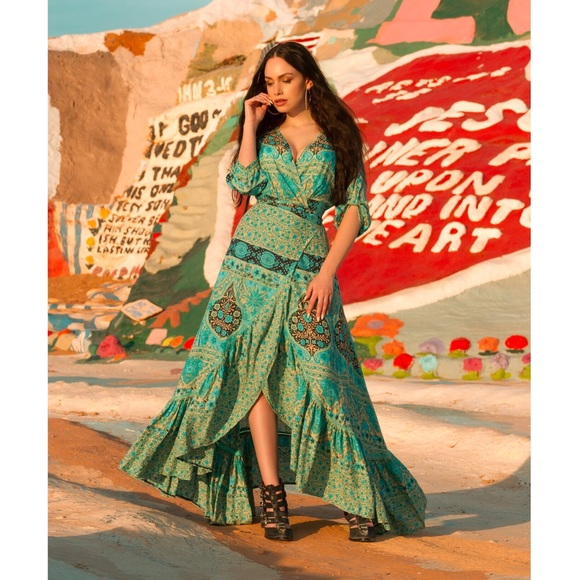Spell & The Gypsy Collective Dresses | Aloha Fox Wrap Dress Spell ...