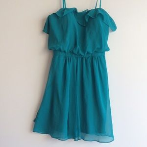 Aidan Mattox Dresses & Skirts - *NEW* Aidan Mattox Strapless Ruffle-Trim Dress