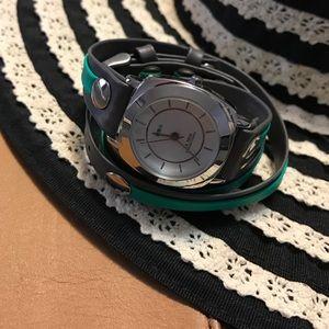 La Mer Accessories - La Mer Fashion Wrap Watch